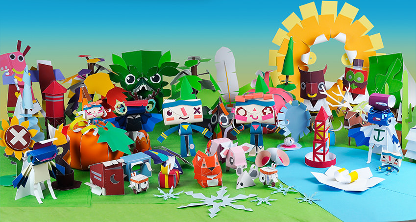 tearaway unfolded from the creators of littlebigplanet