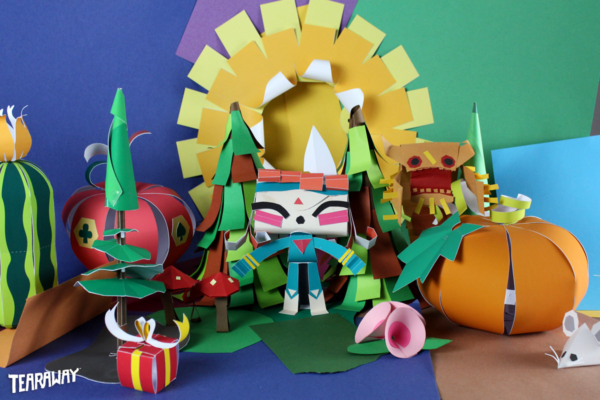 Best Ps Vita Games >> Tearaway Unfolded - From the creators of LittleBigPlanet™